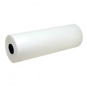 "Lightweight Kraft Paper Roll, White, 24"" x 1000', 1 Roll"