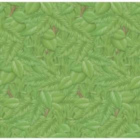 "Bulletin Board Art Paper, Tropical Foliage, 48"" x 12', 4 Rolls"