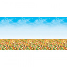 "Bulletin Board Art Paper, Autumn Landscape, 48"" x 50', 1 Roll"