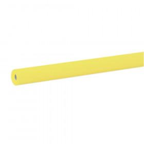 "Bulletin Board Art Paper, Sunshine Yellow, 48"" x 50', 1 Roll"