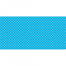 "Bulletin Board Art Paper, Classic Dots-Aqua, 48"" x 50', 1 Roll"