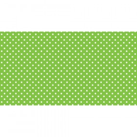 Fadeless 48X50 Classic Dots Lime Design Roll