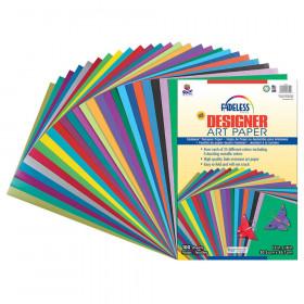 """Paper Assortment, 25 Assorted Colors, 12"""" x 18"""", 100 Sheets"""