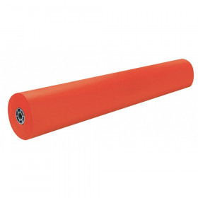 "Colored Kraft Duo-Finish Paper, Orange, 36"" x 1,000', 1 Roll"