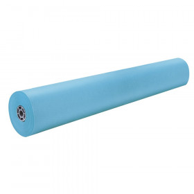 """Colored Kraft Duo-Finish Paper, Sky Blue, 36"""" x 1,000', 1 Roll"""