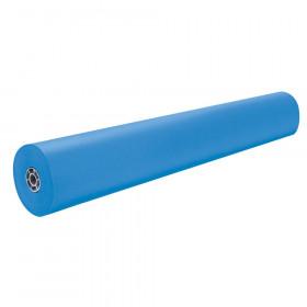 """Colored Kraft Duo-Finish Paper, Brite Blue, 36"""" x 1,000', 1 Roll"""