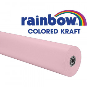 "Colored Kraft Duo-Finish Paper, Pink, 36"" x 1,000', 1 Roll"