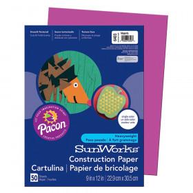 Construction Paper Magenta 9X12
