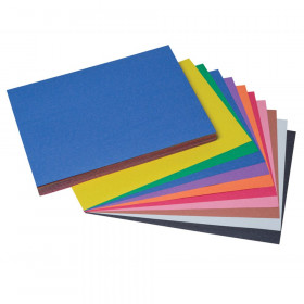 "Construction Paper, 10 Assorted Colors, 9"" x 12"", 100 Sheets"