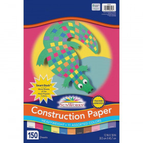 Sunworks Construction 150 Sht 12X18 Paper Smart Stack