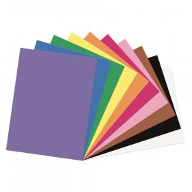 "Construction Paper, 10 Assorted Colors, 9"" x 12"", 200 Sheets"