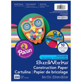 Sunworks Gw 9X12 Assorted 200Ct