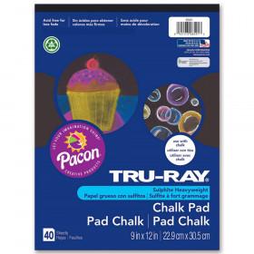 "Chalk Pad, Black, 9"" x 12"", 40 Sheets"