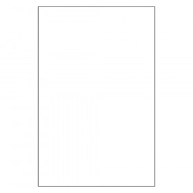 "Plastic Art Sheets, White, 11"" x 17"", 8 Sheets"