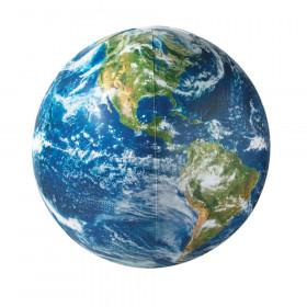 "Globe, Inflatable, 16"" Diameter, 1 Globe"