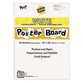 Super Value Poster Board All White
