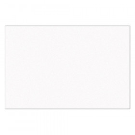 "Construction Paper, Bright White, 12"" x 18"", 100 Sheets"