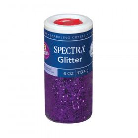 Spectra Glitter 4Oz Purple Sparkling Crystals