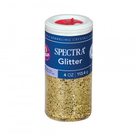 Glitter, Gold, 4 oz., 1 Jar