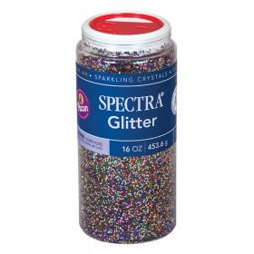 Glitter, Multi-Color, 1 lb., 1 Jar