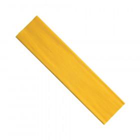 "Crepe Paper, Yellow, 20"" x 7-1/2', 1 Sheet"