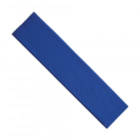 "Crepe Paper, Blue, 20"" x 7-1/2', 1 Sheet"