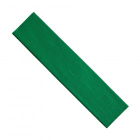 "Crepe Paper, Green, 20"" x 7-1/2', 1 Sheet"
