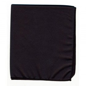 "Whiteboard Erasers, Microfiber Dry Erase Cloth, Black, 12"" x 14"", 1 Piece"