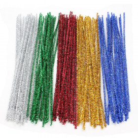 "Jumbo Stems Classroom Pack, Assorted Colors, 6"" x 6 mm, 1000 Pieces"