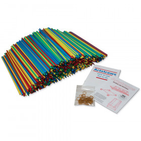 6Mm Colored Artstraws 900 Count