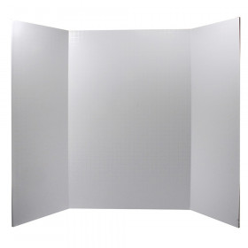 "Foam Presentation Board, White, 1/2"" Faint Grid 28"" x 22"", 1 Board"