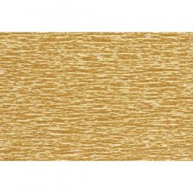 "Extra Fine Crepe Paper, Metallic Gold, 19.6"" x 78.7"""