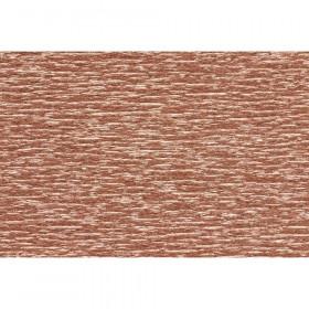"Extra Fine Crepe Paper, Metallic Copper, 19.6"" x 78.7"""