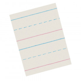 "Newsprint Handwriting Paper, Dotted Midline, Grade 1, 5/8"" x 5/16"" x 5/16"" Ruled Long, 10-1/2"" x 8"", 500 Sheets"