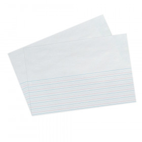 """Picture Story Paper, Grade 1, 5/8"""" x 5/16"""" x 5/16"""" Ruled Long, 18"""" x 12"""", 250 Sheets"""