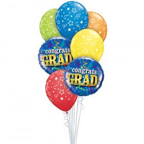 Graduation Bouquet in a Box Balloons