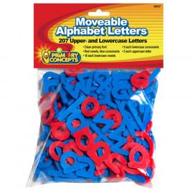 Moveable Alphabet Letters, 207 letters
