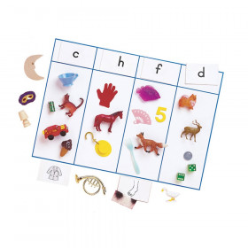 Sound Sorting with Objects, Consonant Sound, 106 Pieces
