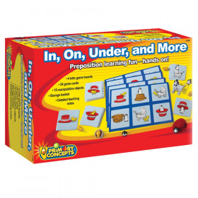 Primary Concept In, On, Under, and More, Preposition Game