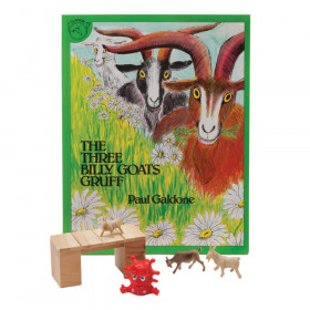 The Three Billy Goats Gruff 3D Storybook