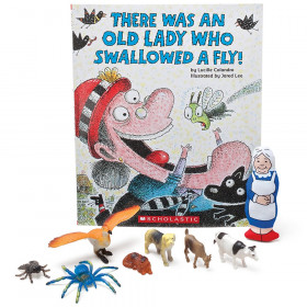There Was an Old Lady Who Swallowed a Fly! 3-D Storybook