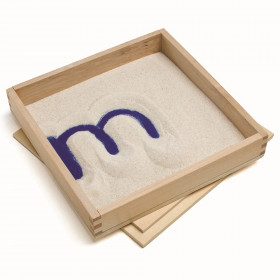 """Letter Formation Sand Tray, 8"""" x 8"""""""