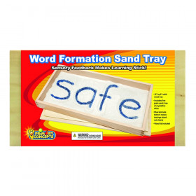 """Word Formation Sand Tray, 15"""" x 8"""""""