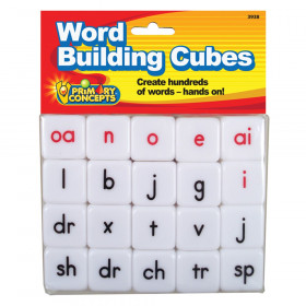 Word Building Cube, 20 Pieces