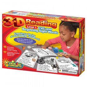 3-D Reading, Level 1