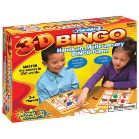 3-D Phonics Bingo
