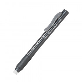 Pentel Clic Erasers Grip, Black Barrel