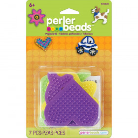 Small Fun Shaped Pegboards, pack of 5