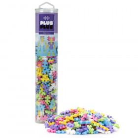 Plus-Plus 240-Piece Tube, Pastel