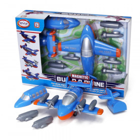 Magnetic Build-a-Truck Plane